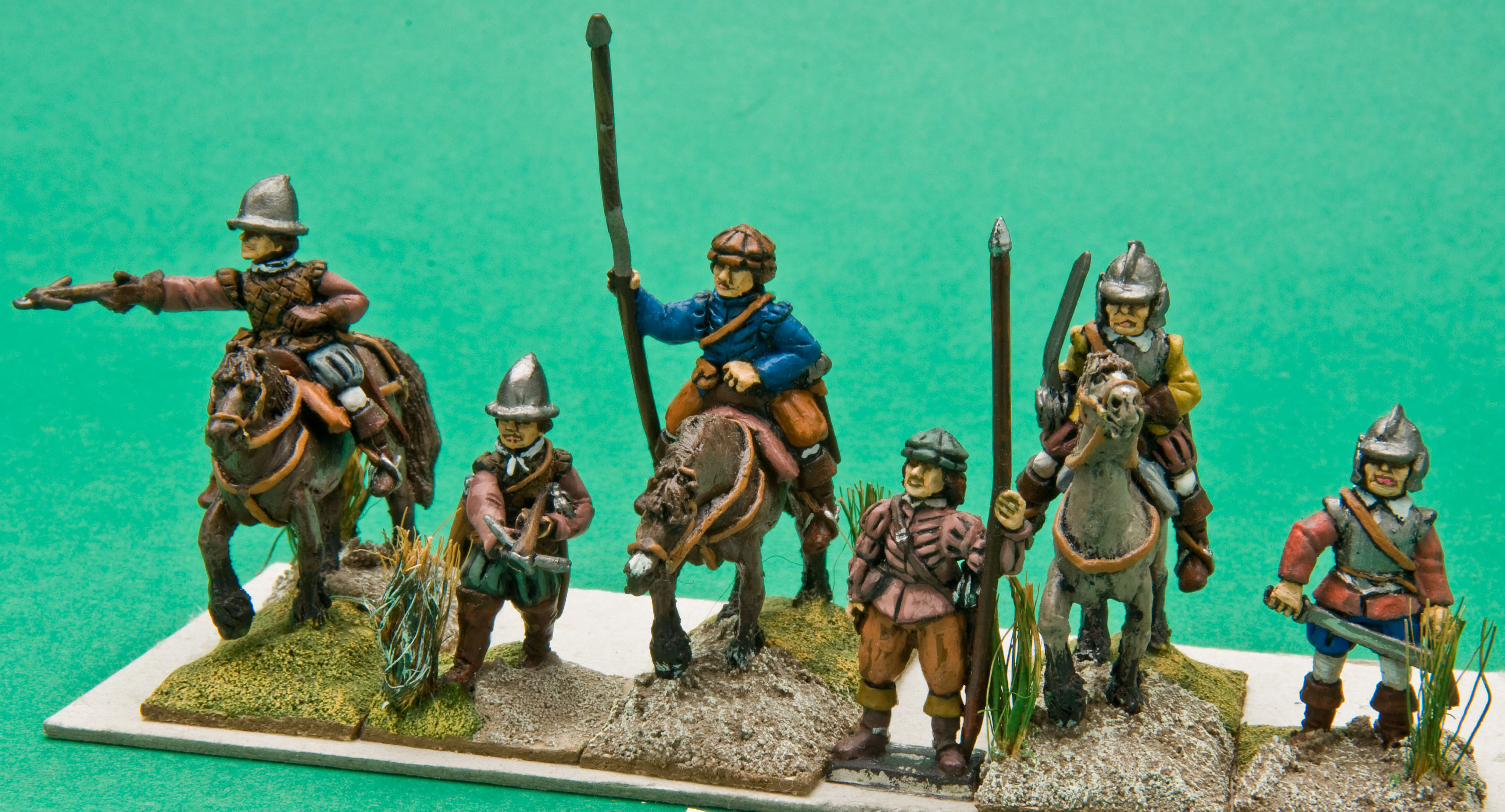 Mounted Reivers – 3 Different